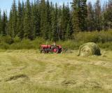 Haying out at the Meadow Springs Ranch hay lease