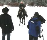 Norweigian Broadcasting films Meadow Springs Ranch